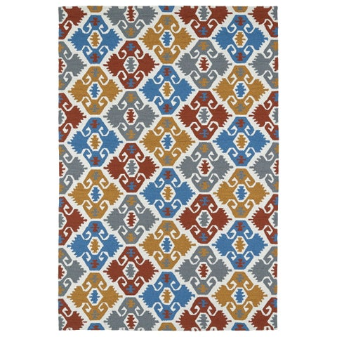Seaside Multi Nomad Indoor/Outdoor Rug - 4' x 6'