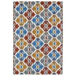 Seaside Multi Nomad Indoor/Outdoor Rug (4'0 x 6'0)