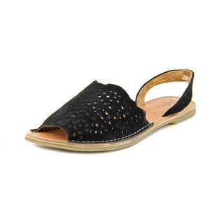 Rebels Women's 'Belle' Regular Black Suede Sandals