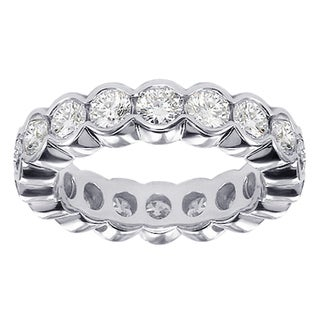 Platinum 2 - 2 1/2ct TDW Contemporary Diamond Band (G-H, SI1-SI2)