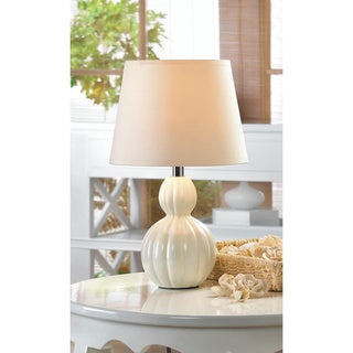Broadway Ivory Ceramic Table Lamp