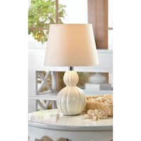 Broadway Ivory Ceramic Table Lamp