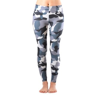 Juniors' Winter Camo Print Leggings