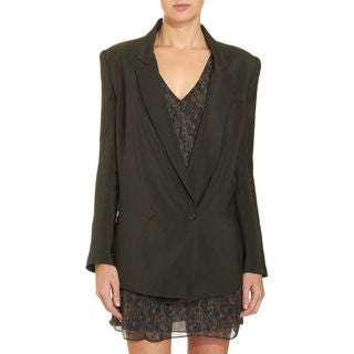 Theory Woman's Jasma Satin Blazer