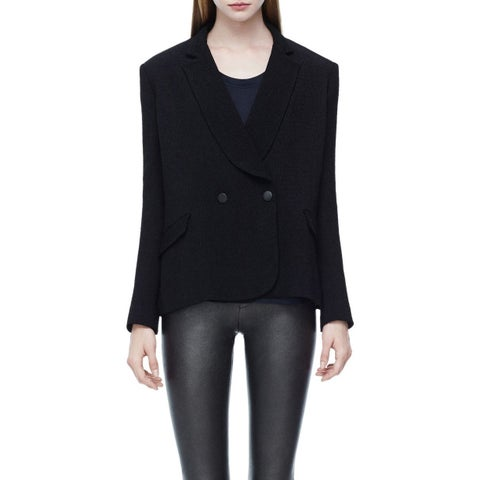 Theory Women's Jousse Double Breasted Blouse