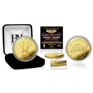 Kobe Bryant 'Final Season' Gold Mint Coin