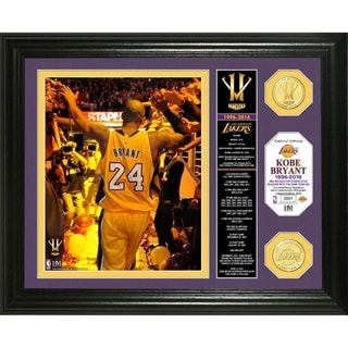 "Kobe Bryant ""Final Season"" Banner Bronze Coin Photo Mint"