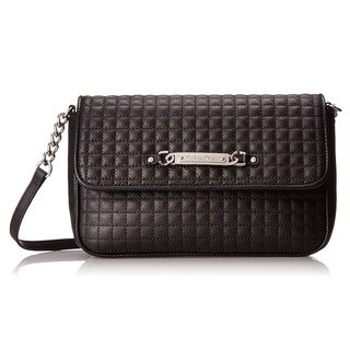 Calvin Klein Quilted Pebble Leather Shoulder Bag