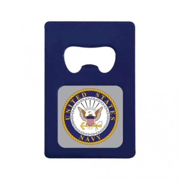 US Navy Logo Magnetic Bottle Opener