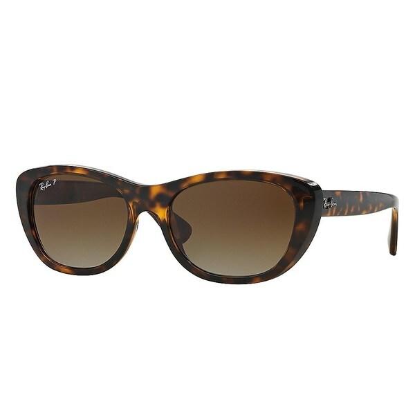Ray-Ban RB4227 Sonnenbrille Tortoise 710/T5 Polarisiert 55mm jfhP7X