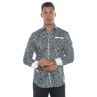 Isaac B. Blue Long Sleeve Button Down Shirt (3 options available)