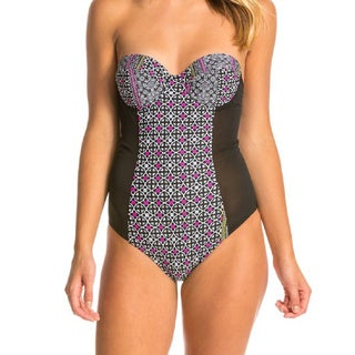 Minkpink Midnight Tribe One Piece Swimsuit with Geometric Design