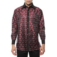 Ferrecci Men's Satine Paisley or Geometric Dress Shirt