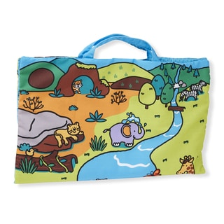 Melissa & Doug Take-Along Wild Animals Play Mat