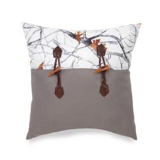 True Timber Snowfall Decorative Throw Pillow