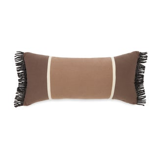 True Timber Pieced Stripe Brown Decorative Throw Pillow