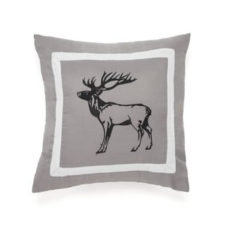True Timber Snowfall Elk Decorative Throw Pillow