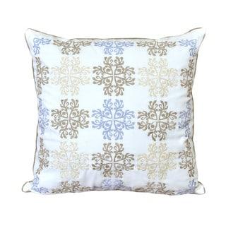 Nostalgia Home Valinda 16- Inch Square Decorative Throw Pillow