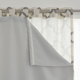 Aurora Home Blackout Curtain Liner Panel (Set of 2) (4 options available)