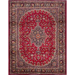 ecarpetgallery Hand-knotted Classic Persian Red Wool Area Rug (9'11 x 12'8)