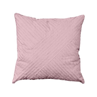 Nostalgia Home Petals Square Plum Decorative Throw Pillow