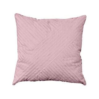 Nostalgia Home Petals Square Plum Decorative Throw Pillow