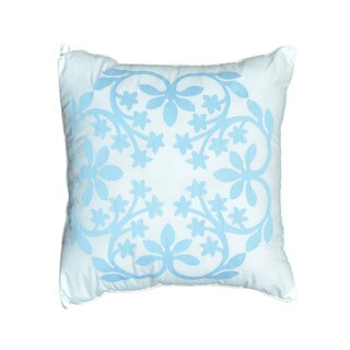 Nostalgia Home Kayla 16-Inches Wide x 16-Inches Long Decorative Pillow