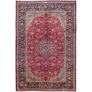 ecarpetgallery Hand-knotted Persian Isfahan Red Wool Area Rug (8'9 x 13'2)