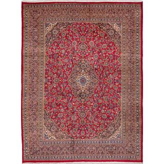 ecarpetgallery Hand-knotted Persian Kashmar Red Wool Area Rug (9'10 x 12'11)