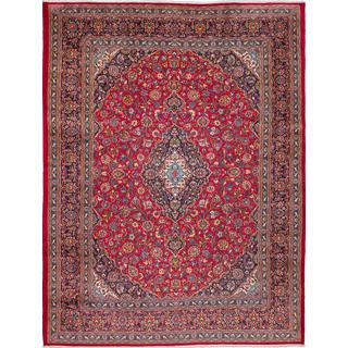 ecarpetgallery Hand-knotted Persian Kashmar Red Wool Area Rug (9'8 x 12'7)
