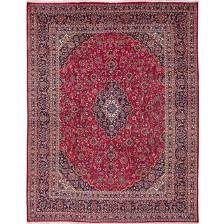 ecarpetgallery Hand-knotted Persian Kashmar Red Wool Area Rug (9'10 x 12'7)