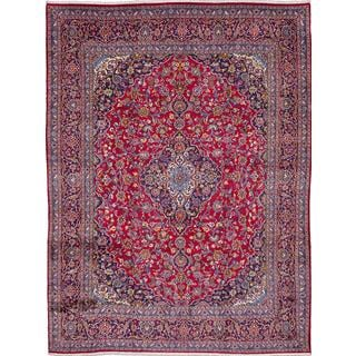 ecarpetgallery Hand-knotted Persian Kashmar Red Wool Area Rug (9'8 x 12'9)