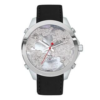 Jacob & Co Diamond Stainless Steel Diamond Dial JCM47WW Watch