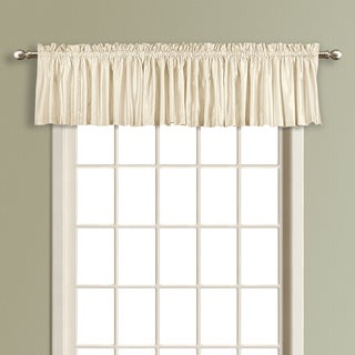 Luxury Collection Lincoln Energy-Saving Lined and Interlined Faux Silk Valances
