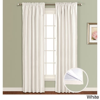 Lincoln Faux Silk Lined Curtain Panel