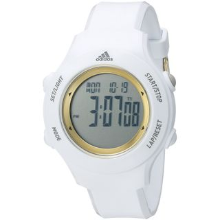 Adidas Unisex ADP3213 'YUR Basic' Digital White Polyurethane Watch