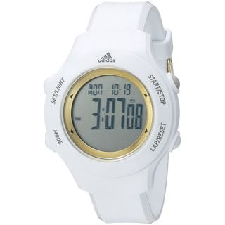 Adidas Unisex ADP3213 'YUR Basic' Digital White Polyurethane Watch