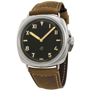 Panerai Men's PAM00424 'Radiomir California 3 Days' Mechanical Hand Wind Brown Leather Watch