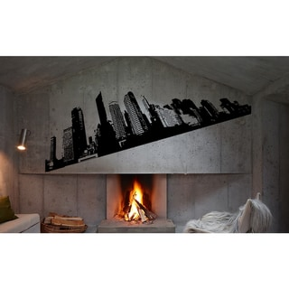 NY New York landscape of the city Wall Art Sticker Decal