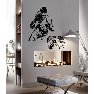 Sport fights without rules boxing Wall Art Sticker Decal