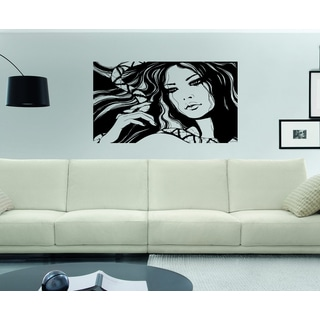 Picture Beautiful girl Wall Art Sticker Decal