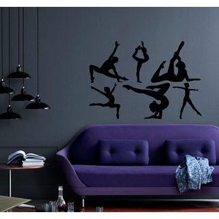 Gymnast sport dancing gymnastics Wall Art Sticker Decal
