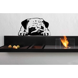 Dog English bulldog animal Wall Art Sticker Decal