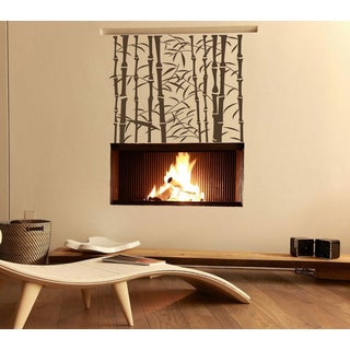 Cane nature landscape plant Wall Art Sticker Decal Brown