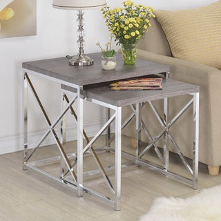 Set of 2 X Design Nesting Slide tables