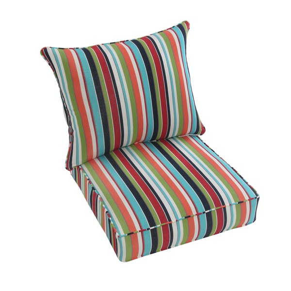 Shop Sunbrella 2 Piece Cushion And Pillow Indoor Outdoor Set 23 In