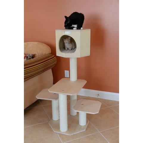 Armarkat Premium 42-inch Scots Pine Cat Tree