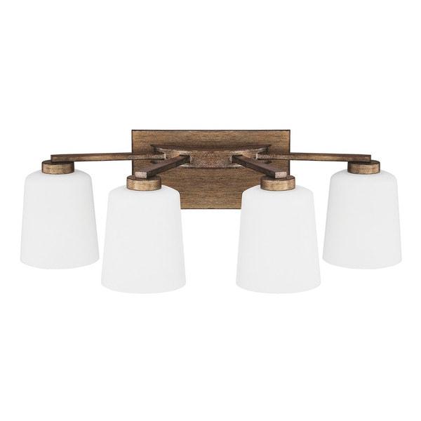 Shop Capital Lighting Reid Collection 4 Light Rustic Bath/Vanity Light    Free Shipping Today   Overstock   11710491