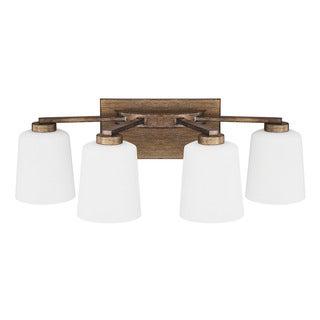 Capital Lighting Reid Collection 4-light Rustic Bath/Vanity Light