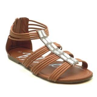 Blue Women's Foxee Gladiator Sandals